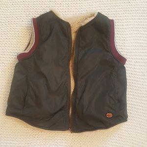 Bellerose Reversible Vest Size 4